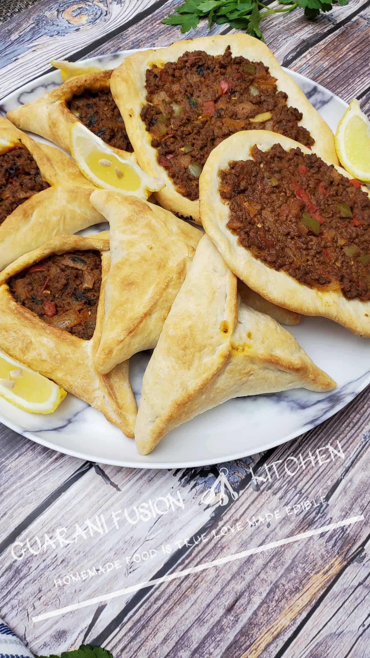 """How to Make Healthy Fatay """"Empanadas Arabes"""""""